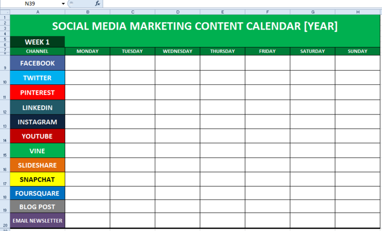 nonprofit social media strategy template - hoofdstuk 8 handboek content strategie